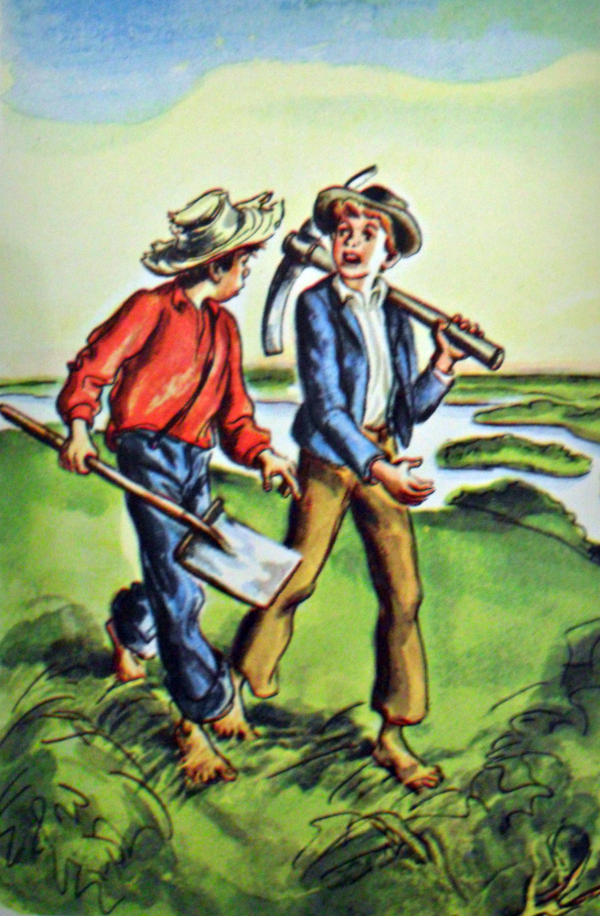 huck finn and transcendentalist writers Huck is not sure he will be able to keep up the charade as tom when sally's husband, silas, returns, however his enthusiastic greeting reveals to huck that that night, huck and tom sneak out of the house as they walk on the road, they see a mob of townspeople running the duke and the dauphin.